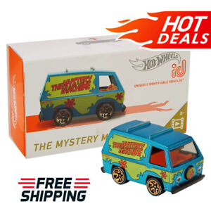 Hot-Wheels-ID-Cars-The-Mystery-Machine-Racing-Vehicle-Kids-Toys-NEW