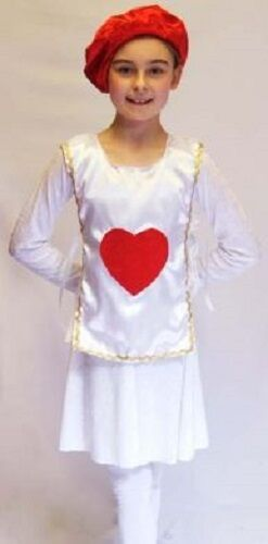 Wonderland-shows-unisex-dance-heart PLAYING CARD tabbard Costume tutte le età