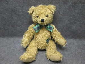 "Limited Edition 1993 Dakin Patches Teddy Bear w/ Original Tags 17"" Long MINT MWT"