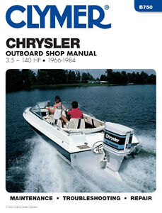 chrysler 1980 3 5 140 hp service repair manual