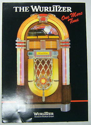 Collectibles Manuals & Guides Initiative Vintage 1970's Jukebox Advertising Brochure Rainbow Rb-2 By Wurlitzer 052412r