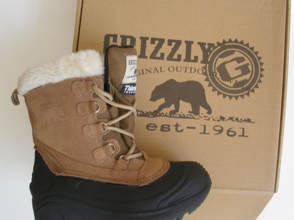 GRIZZLY THINSULATE WINTER BOOT   6 EUR 36.5 NEW