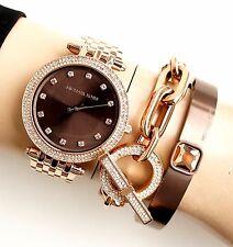 Original Michael Kors Uhr Damenuhr MK3217 Darci Frabe:Rose Gold Kristall NEU