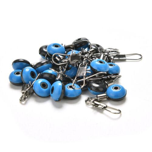 20x Fishing Swivel Accessories  Fishing Clip Snap Swivels Connectors =TOYN