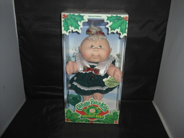 Cabbage patch kids holiday baby special edition 1997 rosette shana.