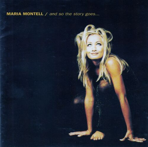 1 von 1 - MARIA MONTELL : AND SO THE STORY GOES...  / CD - TOP-ZUSTAND