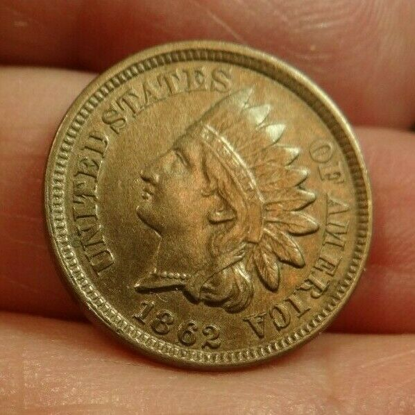 1862 Indian Head cent MS