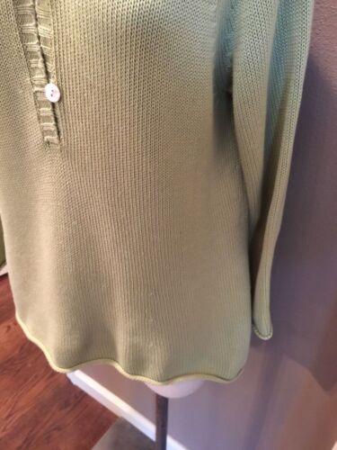 100 verde celeste cotone con con Very Top cappuccio Tommy cappuccio Very L Bahama SqwHHf1