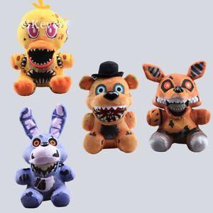 2020-FNAF-Five-Nights-At-Freddy-039-s-Plush-Stuffed-Toy-Plush-Bear-Foxy-Bonnie-Chica