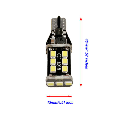 Total 1600LM White 921 LED Reverse Backup Light Bulbs For 03-18 Subaru Legacy