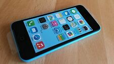Apple iPhone 5c   - 32GB  -     in  BLAU    ohne Simlock     -    Smartphone