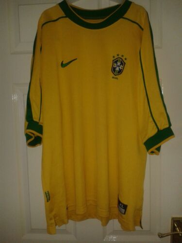 15 X Mens Football Shirt Brazil Brasil National m Home Away Nike