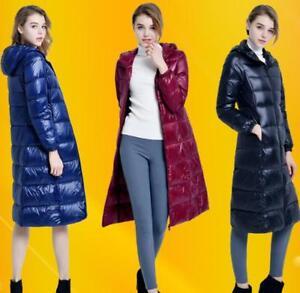 de et légère 90 femmes chaude Hiver pour Parka veste Puffer capuche à la Manteaux U longue ultra 8Ipwxqpd