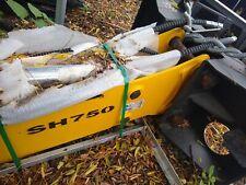 Suhie Sh750 Skid Steer Skidsteer Excavator Hydraulic Post Pounder Hammer Breaker