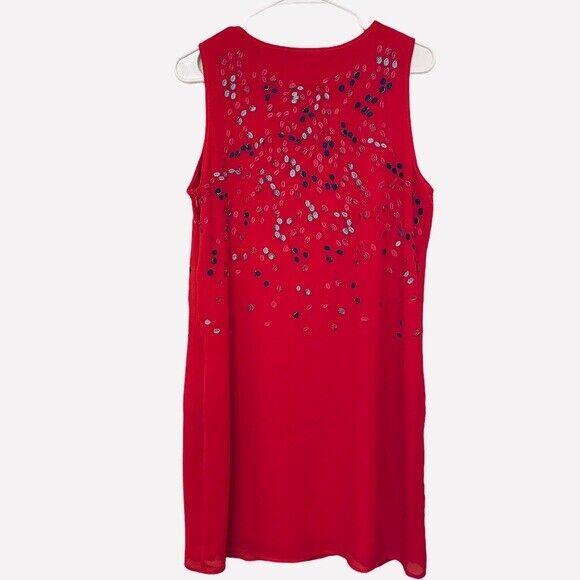 Belle Badgley Mischka   Embroidered & Beaded Dress - image 2