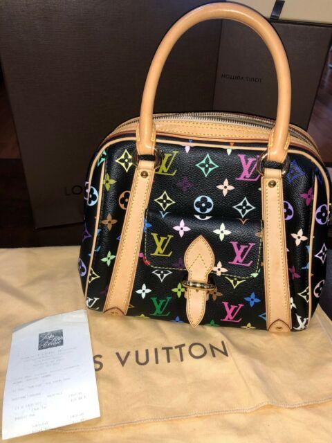 Louis Vuitton Priscilla Multicolor Handbag M40097 Noir 19819 For Sale Online Ebay
