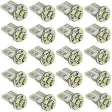 20pcs T10 169 194 501 W5W 5 SMD LED White Canbus Car Wedge Light Lamp Bulb