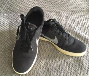 Nike-Lunarlon-Eric-Koston-Signature-Model-Mens-Size-7-Black-Skateboard