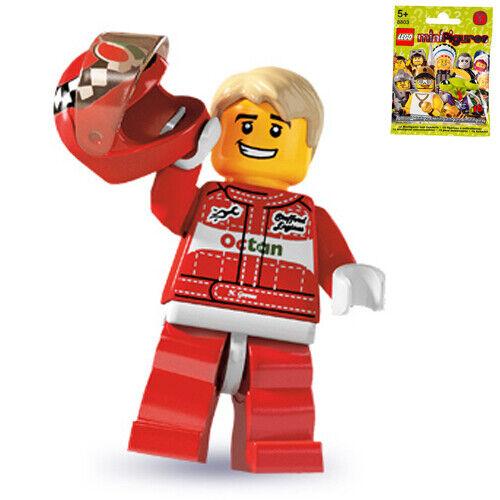 LEGO 8803 MINIFIGURES Series 3 #11 Race Car Driver