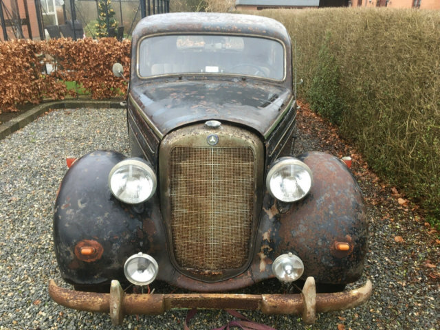 Mercedes 170 S, 1,8 Sedan, Diesel, 1953, km 93000, sort,…
