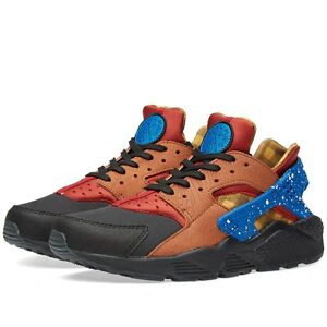 buy online a01ad b1f69 Image is loading Nike-Air-Huarache-Premium-Run-Milan-Dark-Cayenne-