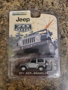 GREENLIGHT-1-64-70TH-ANNIVERSARY-2011-JEEP-WRANGLER-Silver-VHTF-RARE-LIMITED