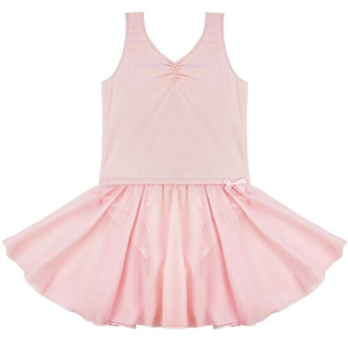 Child Girls Yoga Ballet Dance Dress Gymnastics Leotard Tutu Skirt Dancewear UK!