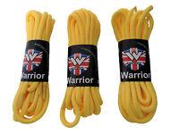 3er Pack Warrior Gelbe Lange Runde Schnürsenkel Loch Boots Stiefel Laces Yellow
