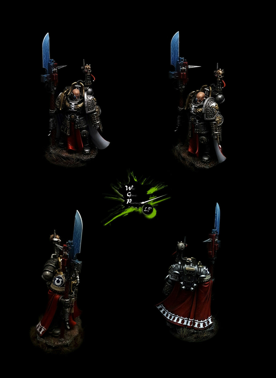 Fallen Angel Cypher Cypher Cypher Space Marines Commission