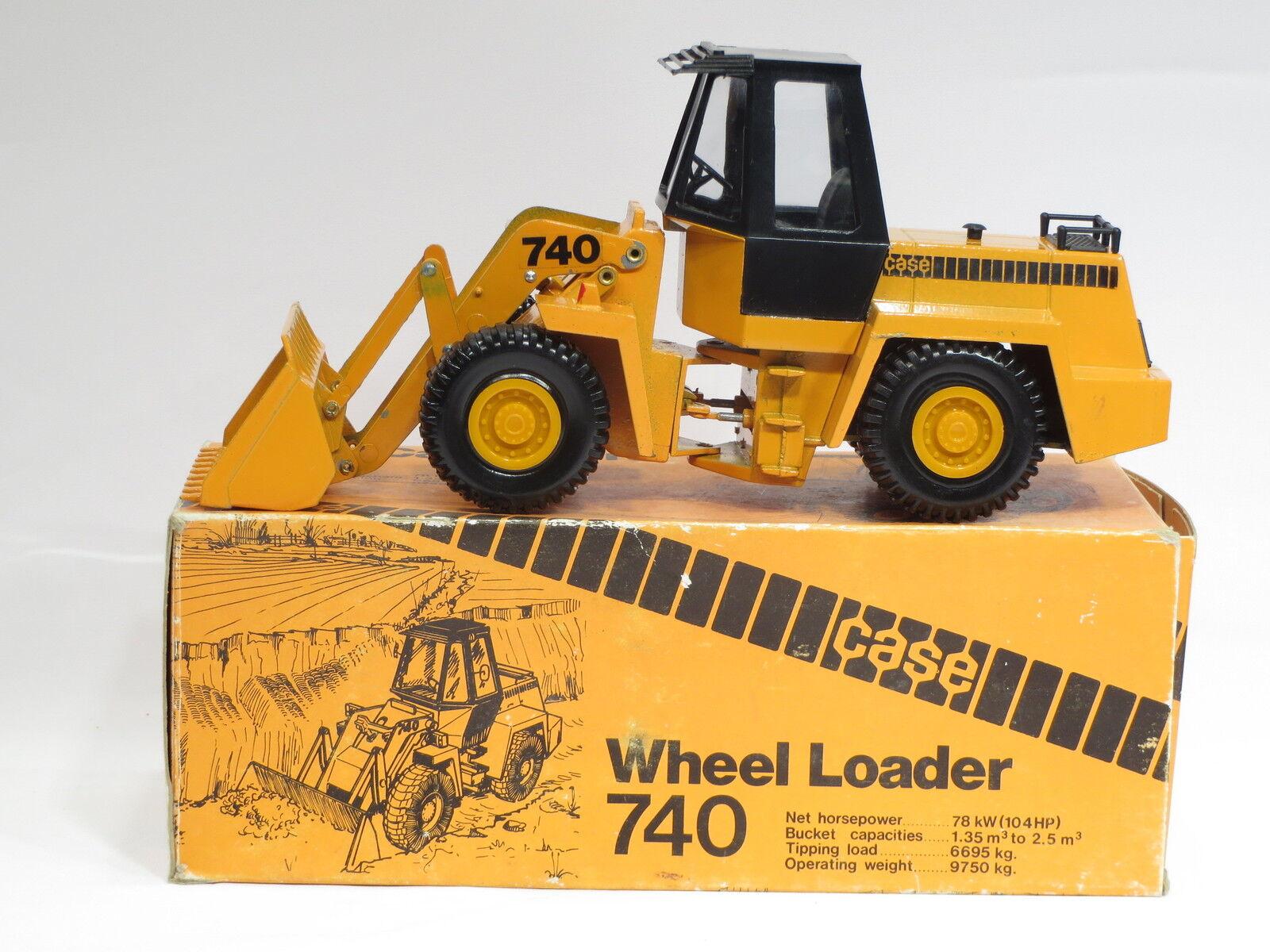 Case 740 Wheel Loader - 1 35 - - - Nacoral of Spain - N.MIB - RARE 3b105c