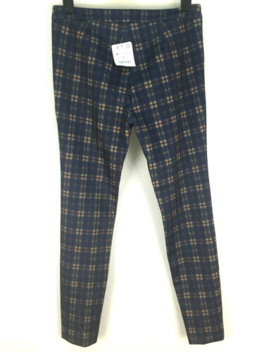 Pantaloni media Womens taglia Check Zara wvnEqHIx
