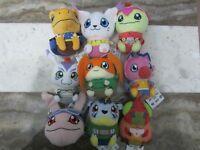 9 Digimon Tri Soft Plush Toy Doll Agumon Patamon Gatomon Bandai Namco Banpresto