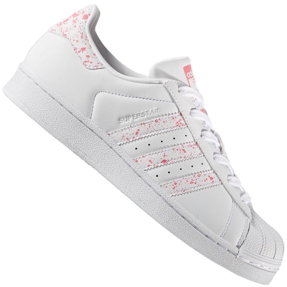 Adidas Originals Superstar Femmes-Sneaker Baskets Tactile Rose by2951-