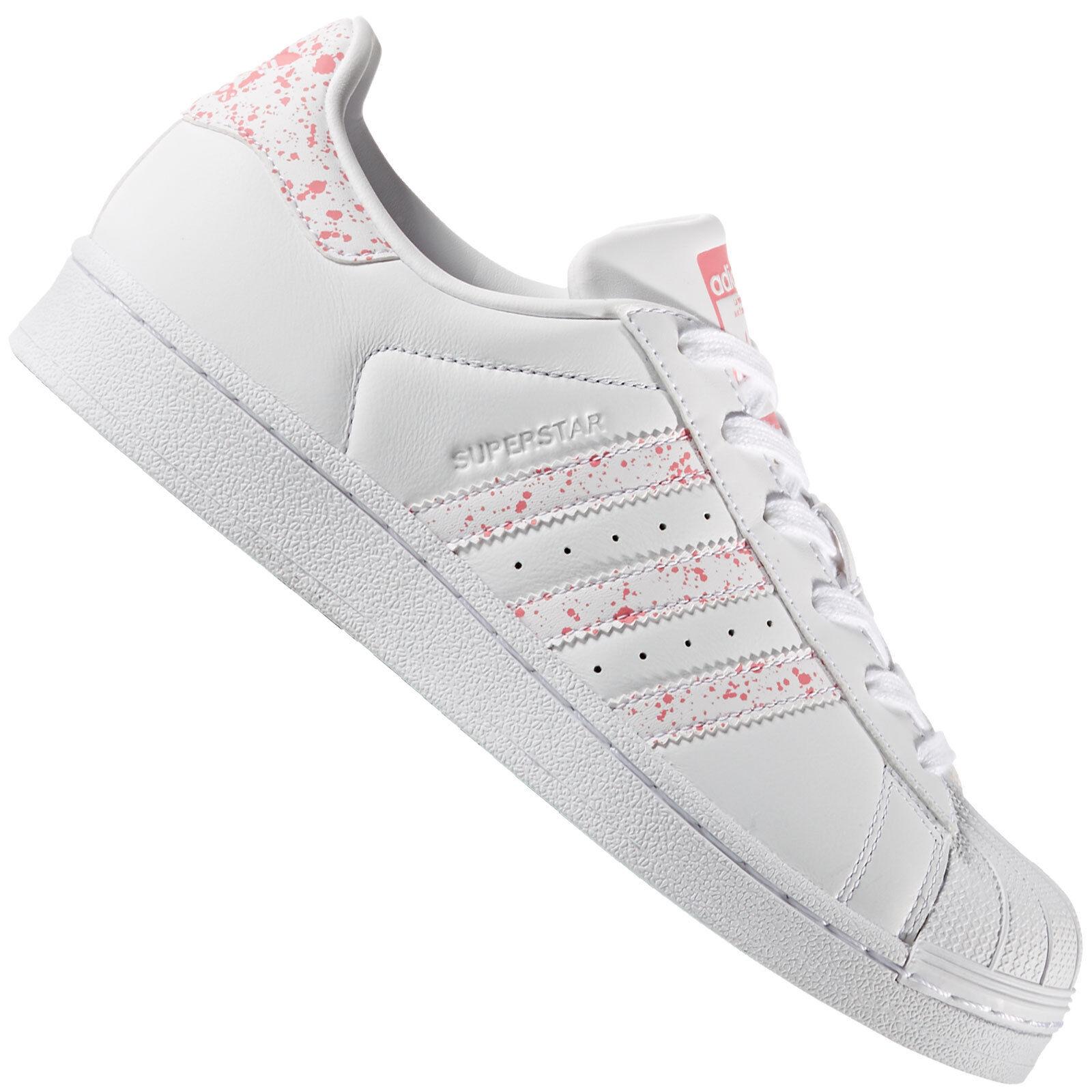 Adidas Originals Superstar Femmes-baskets Baskets Tactile Rose by2951