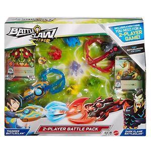 NEW-BATTLE-CLAW-2-PLAYER-Battle-Pack-Dark-Flame-amp-Thunder-Mattel-2017