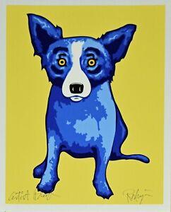 George Rodrigue Blue Dog Sunshine On My Shoulder Silkscreen Print Signed Artwork Ebay
