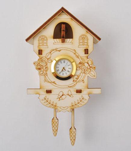 Cuckoo Clock / Wooden model kit /