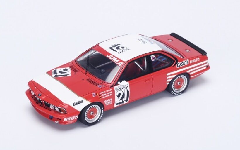 BMW 635 CSi  21 Tassin-Hahne-Heyer  Winner Spa  1983 (Spark 1 43   SB064)