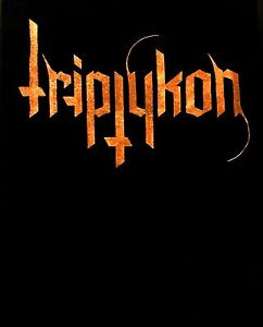 TRIPTYKON-cd-lgo-ORANGE-LOGO-Official-SHIRT-SMALL-new
