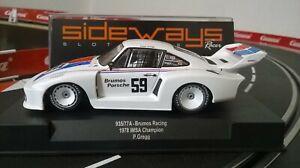 Porsche 935 / 77a Brumos Racing P.gregg # 59 1978, Champion Imsa Champion Sw61 sur le côté