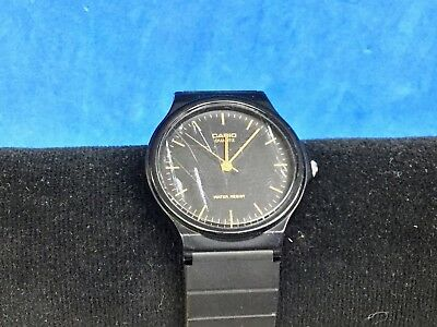 quality design 90eb5 95cdd Black Casio 1330 MQ-24 Water Resistant watch - WORKING WELL | eBay