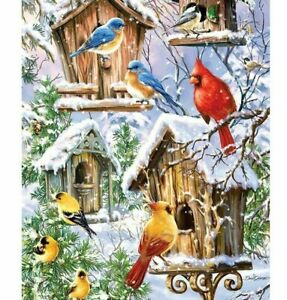 5D DIY Full Drill Square Diamond Painting Bird Cross Stitch Mosaic Kit