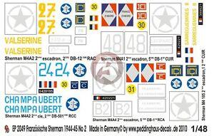 Peddinghaus 2050 1//48 5 Sherman der FFF in der Normandie No 3
