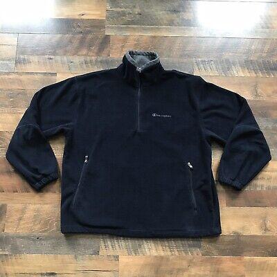 meilleur service gros en ligne Prix usine 2019 Vintage Champion Zip Fleece Jacket Sweater Blue Sweatshirt ...