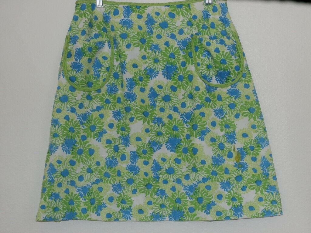 Lilly Pulitzer Vintage Skirt SZ 8 The Lilly Blue … - image 2