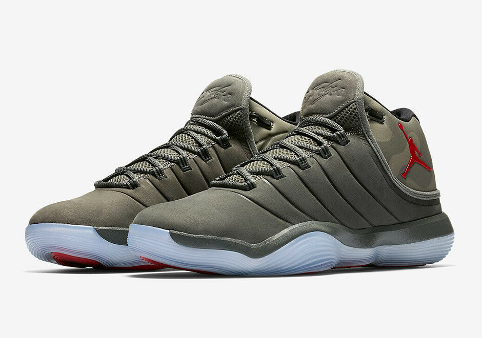 921203-051 Men's Jordan Super.Fly 2017 River Rock/University Red Comfortable New shoes for men and women, limited time discount