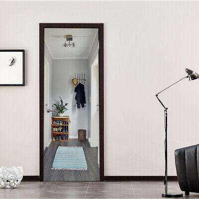 3D Wall Art Basement Retro Stair Door Sticker PVC Decal Self-adhesive Wrap Mural