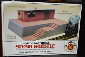 Details about Boxed Bachmann Wayside Warehouse Steam Whistle Kit HO Scale  46209 with Sound