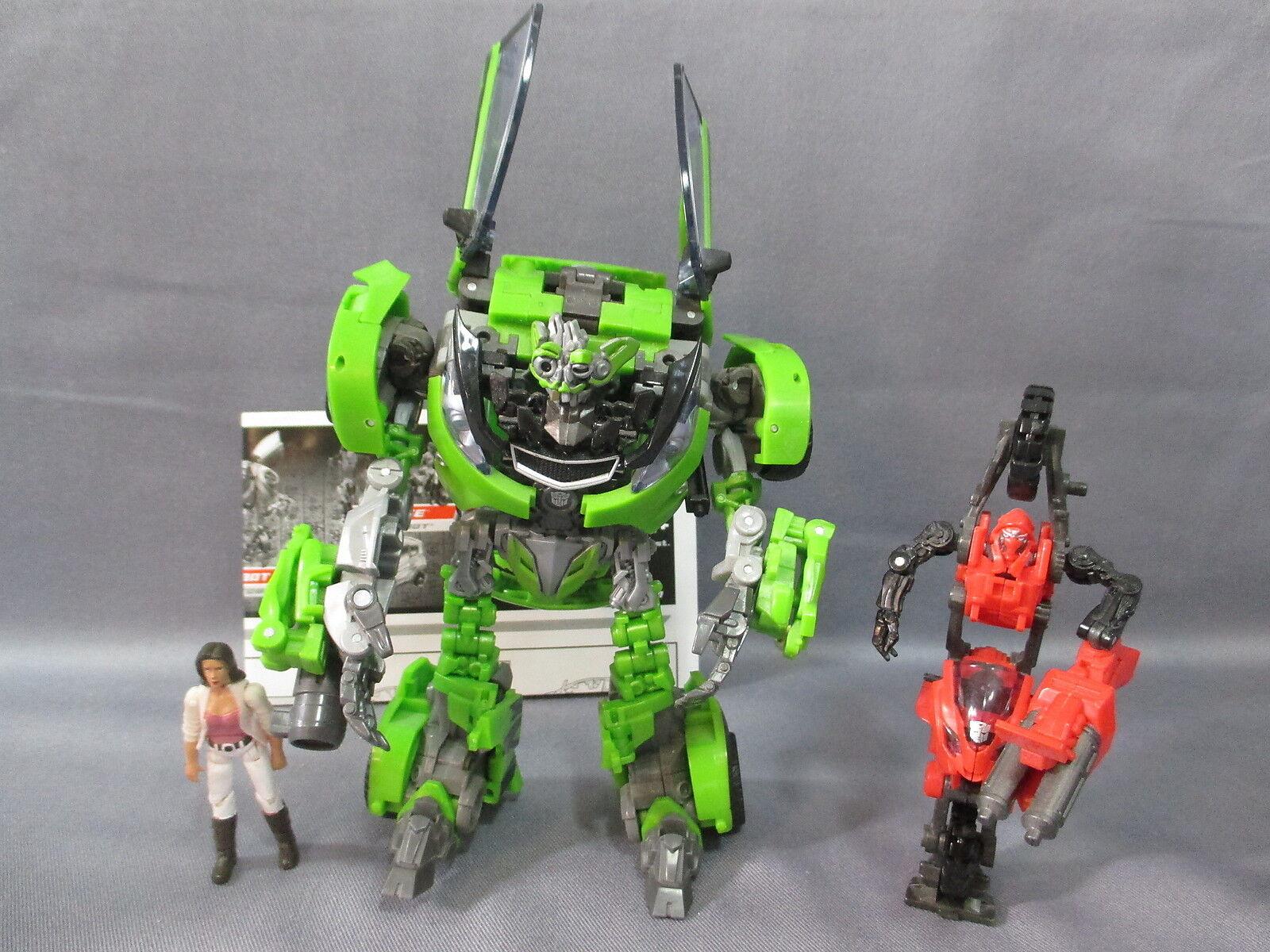 Transformers redF Movie  SKIDS, ARCEE & MIKAELA BANES  Human Alliance 2009