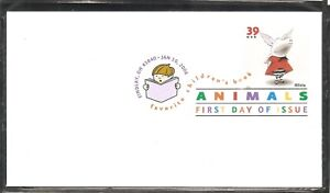 US-SC-3993-Children-Book-Animals-Olivia-FDC-Ready-For-Cachet